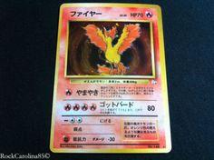 Pokemon Cards Japanese Fossil Set Holo Rares NM Mint Legendary Birds Mew | eBay