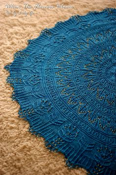 Ravelry: When The Flowers Bloom pattern by Lily Go