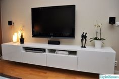 Stand Album – 5 – Banc TV Besta Ikea, réalisations clients (série Album The Album may refer to: Living Room Tv, Home And Living, Tv Furniture, Furniture Design, Ikea Tv Console, Console Tables, Ikea Tv Stand, Muebles Living, Living Room Designs