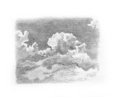drawing sky: how to draw clouds - Wolke Greek Drawing, Ocean Drawing, Cloud Drawing, Cartoon Sketches, Drawing Sketches, Pencil Sketching, Stick Figure Drawing, Calligraphy Drawing, Ink Pen Drawings