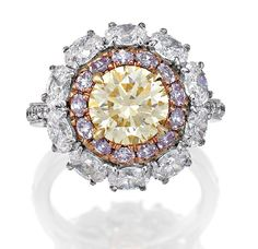 FANCY YELLOW DIAMOND AND COLOURED DIAMOND RING, Sotheby's Australia Auctions, Calender, Australian Auctioneers