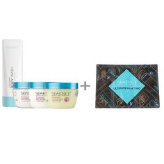 Body Spa, Includes Salt Scrub, Salt & Oil Scrub, Conditioning Body Wash, Body Butter. ULTIMATE HAIR TRIO GIFT WITH PURCHASE