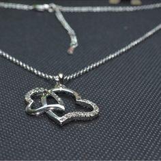 $3.99Corean Fashion Bicentric Silver Metal Necklace