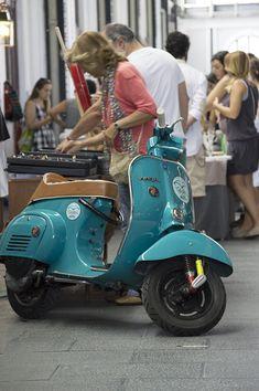 Vespa Bike, Vespa Lambretta, Vespa Scooters, Vespa Super, Vespa Smallframe, Honda Ruckus, Scooter Girl, The Most Beautiful Girl, Teal