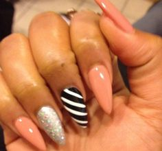 My very own Stiletto Nails