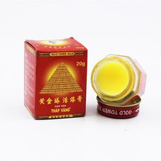 2016 Vietnam Tiger Balm Gold Tower Ointment Pain Relieving Relaxing Activation Collateral Channels Body Massage Arthritis I127