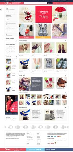 Style Responsive #OpenCart Fashion Store #Theme http://www.themesandmods.com/opencart/style/