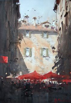 Joseph Zbukvic watercolor                                                                                                                                                                                 Más