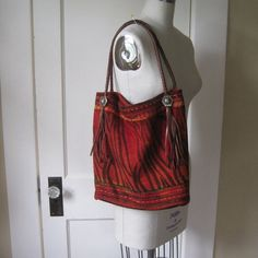 Unusual handmade purse