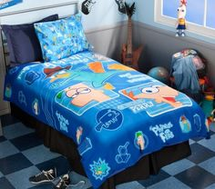 12 Best Phineas And Ferb Bedroom Images On Pinterest