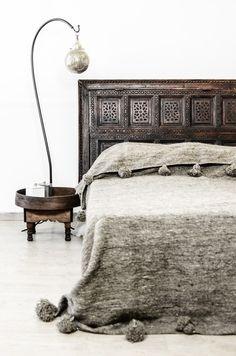 Zoco Home - Ethnic Scandinavian Decor - Pom Pom Blanket | designlibrary.com.au