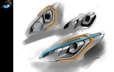 01-Peugeot-208-GTi-Headlight-Design-Sketch