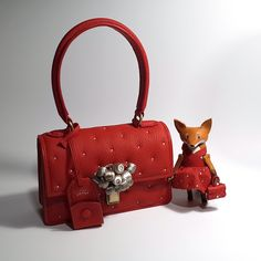 Red mini bag. Heritage by Huns 2015.