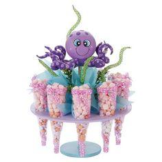 Proyectos  Base con pulpo morado Little Mermaid Birthday, Little Mermaid Parties, 1st Birthday Girls, Unicorn Birthday Parties, Spongebob Birthday Party, Diy Party Crafts, Ocean Party, Barbie, Inspiration