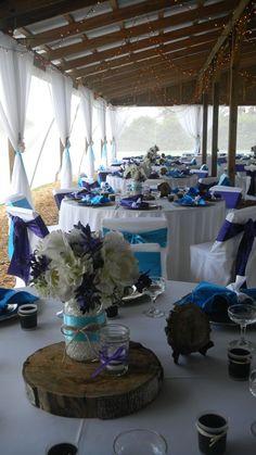 Cross Creek :: Purple and Turquoise Wedding