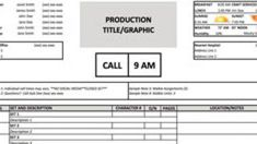 How To Make A Lined Script Shooting Script  Film