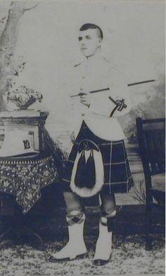 Pte Watt, Seaforth Highlanders, B.E.F., 1914