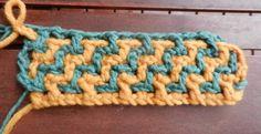PAP crochet ladder Point