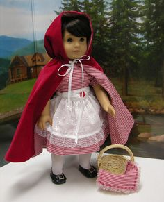 Little Red Riding Hood costume for American by cupcakecutiepie, $70.00