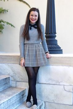 44 Ideas for style winter preppy fall fashion Preppy Outfits, Skirt Outfits, Cute Outfits, Fashion Outfits, Fashion Fashion, Mom Outfits, Preppy Fall Fashion, Winter Fashion, Preppy Style Winter