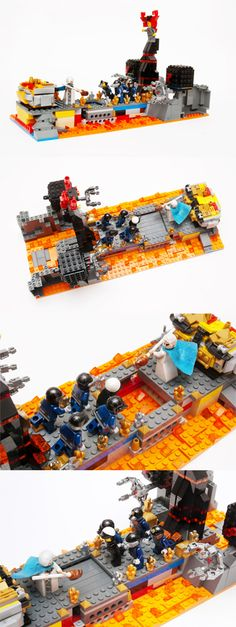 Inspired by The Lego Movie: Vitruvius vs Lord Business