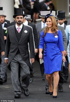 Passion: Princess Haya, seen here with Sheikh Mohammed at Royal Ascot in June last year, i...