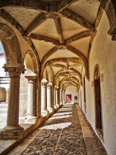Renaissance Cloister Convent of Christ II | Flickr: Intercambio de fotos