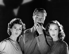 Ann Rutherford, Red Skelton & Virginia Grey Whistling in the Dark (1941)