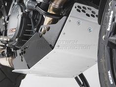 Enginge Guard. Black / Silver. KTM 1190 Adventure / R (13-)., Item No.: mss.04.657.10000__b