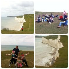 National Trust - Birling Gap, East Sussex. A free day out for the family