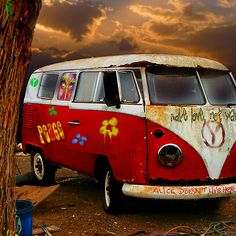 THE HIPPIES HAVE ALL GONE NOW..........