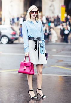 13 Top-Handle Bags to Transform Your Outfit via @WhoWhatWear