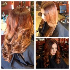 Ombré/Splashlights Hair by Meredith @Tina Giger LaPage