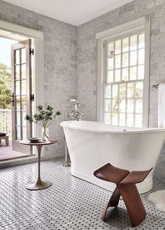salle de bain Pinterest et idée déco avec accessoires bois