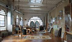 Image result for artist studio