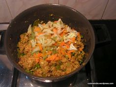 Oats Upma « The Indian Food Court Indian Food Recipes, Healthy Recipes, Ethnic Recipes, Oats Upma, Health Breakfast, Food Court, Fried Rice, Bon Appetit, Paper