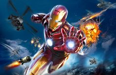 I love Ironman in movie because I like technology and would love to wear them in real life!