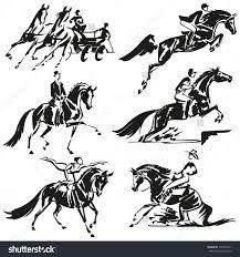 Billedresultat for cartoon horse western show