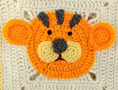 This Lion, Tiger and Bear Crochet Blanket is a FREE Crochet Pattern that you'll love to make and it will make a gorgeous gift for that special little one.