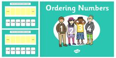 Ordering 5 Digit Numbers PowerPoint Place Value Chart, Ordering Numbers, Place Values, Your Child, Entertaining, Activities, Learning, Children, Young Children
