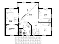 Övervåning - Alternativ planlösning 2