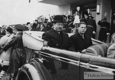 poze poza Poze vechi din Bucuresti, 1938, Caril II si Mihai I