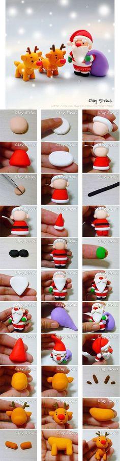 Santa and Reinders Tutorial.