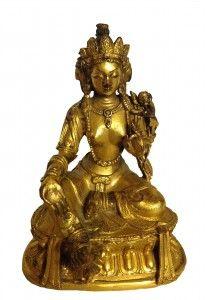 Sino Tibetan Rare Gilt-Bronze Buddha
