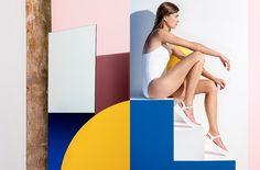 ©les graphiquants - Stephane Kélian - SS16 lookbook - 2015 - #graphic #design #photography #stephanekelian #lookbook #cover #layout #setdesign