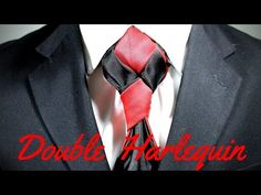 How To Tie a Tie - Double Harlequin Knot - YouTube