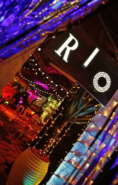 Event Prop Hire: Event Prop Hire  - Rio Themed Staff Christmas Party