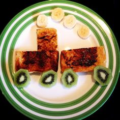 Easy Toddler Food - Toddler Toast Train