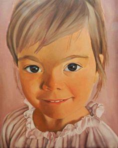 Sarah, acrylic on canvas, 80x100 cm