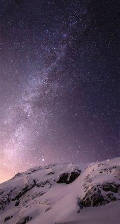 Wallpaper Iphone Stars Sky Starry Nights Nature 46 Ideas For 2019 Night Sky Wallpaper, Galaxy Wallpaper, Screen Wallpaper, Cool Wallpaper, Nature Wallpaper, Mountain Wallpaper, Wallpaper Space, Star Wallpaper, Travel Wallpaper